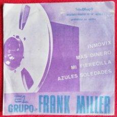 Discos de vinilo: EL GRUPO DE FRANK MILLER - INMOVIX EP RARO FUNK SOUL. Lote 235133900