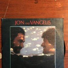 "Discos de vinilo: SINGLE 7"" JON AND VANGELIS - ""I HEAR YOU NOW"", POLYDOR 1979. Lote 235142025"