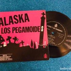 Discos de vinilo: ALASKA Y LOS PEGAMOIDES EL JARDIN/VOLAR. FLEXI. EDICIÓN LIMITADA. Lote 235143645
