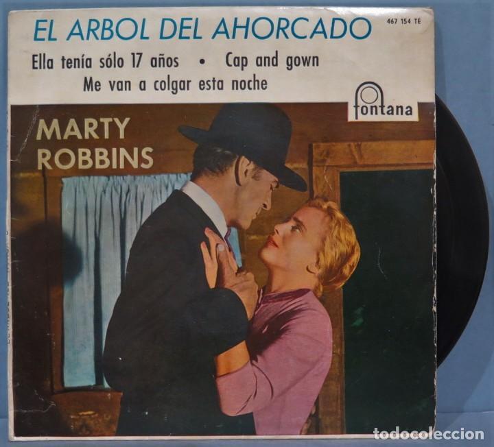 EP. EL ARBOL DEL AHORCADO. MARTY ROBBINS (Música - Discos de Vinilo - EPs - Bandas Sonoras y Actores)