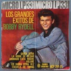 Discos de vinilo: MICRO LP. LOS GRANDES EXITOS DE BOBBY RIDELL. Lote 235149590