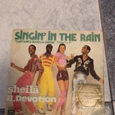 Discos de vinilo: SHEILA B. DEVOTION - SINGIN IN THE RAIN. Lote 235152740