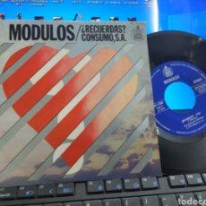 Discos de vinilo: MÓDULOS SINGLE RECUERDAS? 1976. Lote 235156095