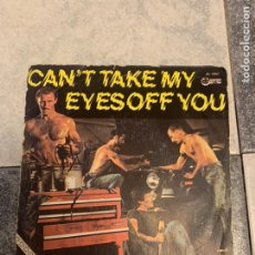 Discos de vinilo: BOYS TOWN GANG / CAN'T TAKE MY EYES OFF YOU. Lote 235160110