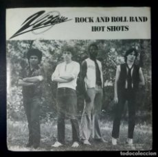 Discos de vinilo: VITESSE - ROCK AND ROLL BAND / HOT SHOTS - SINGLE HOLANDES 1979 - BOVEMA NEGRAM. Lote 235162015