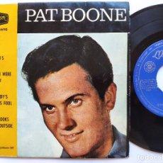 Dischi in vinile: PAT BOONE - EP SPAIN PS - EX * VENUS + 3. Lote 235168075