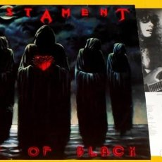 Discos de vinilo: V1348 - TESTAMENT. SOULS OF BLACK. LP VINILO. Lote 235170085