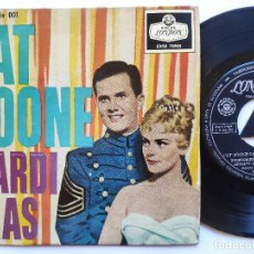 Discos de vinilo: PAT BOONE - EP SPAIN PS - EX * BOURBON STREE BLUES + 3. Lote 235172050