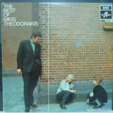 Discos de vinilo: MIKIS THEODORAKIS // THE BEST OF MIKIS THEODORAKIS // MADE IN SWEDEN // (VG VG).LP. Lote 235177730
