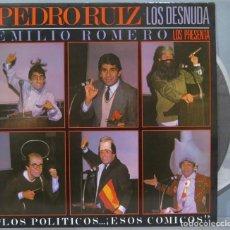 Discos de vinilo: LP. PEDRO RUIZ LOS DESNUDA. Lote 235182460