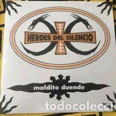Discos de vinilo: HEROES DEL SILENCIO - MALDITO DUENDE - 7 SINGLE - AÑO 2019. Lote 235188880