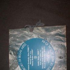 Discos de vinilo: CÍRCULO DE BELLAS ARTES . TALLERES DE ARTE ACTUAL 83-84 GRUPO CÍRCULO DISCO VINILO + LÁMINAS. Lote 235190595