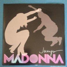 Discos de vinilo: RAREZA 2 VINILOS MADONNA / JUMP - VINILO MAXISINGLE DOBLE (IMPECABLES). Lote 235192970