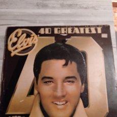 """Discos de vinilo: ELVIS PRESLEY """" 40 GREATEST """". 2 LP,S . ARCADE RECORDS.. Lote 235196920"""