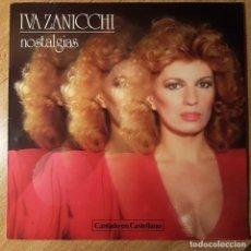Discos de vinilo: DISCO LP DE IVA ZANICCHI. NOSTALGIAS. Lote 235197750