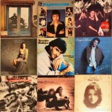 Discos de vinilo: LOTE 9 LP'S POP ROCK NACIONAL, SERGIO DALMA, COMPLICES, ANA BELÉN , PAJARES. Lote 235199675