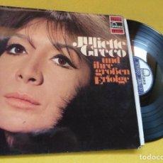 Discos de vinilo: LP JULIETTE GRECO - UND IHRE GROSSEN ERFOLGE - GERMANY - FONTANA 6444 022 (EX-/EX-). Lote 235203560