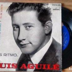 Discos de vinilo: E.P. (VINILO) DE LUIS AGUILÉ AÑOS 60. Lote 235224915