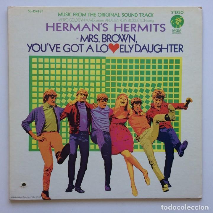 HERMAN'S HERMITS – MRS. BROWN, YOU'VE GOT A LOVELY DAUGHTER (MUSIC FROM THE ORIGINAL SOUND TRACK) (Música - Discos - LP Vinilo - Pop - Rock Internacional de los 50 y 60)