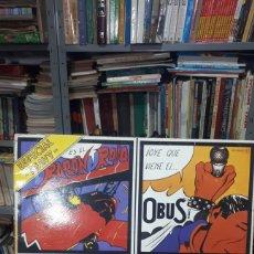 Discos de vinilo: ESPECIAL HEAVY CHAPA DISCOS 1982 BARON ROJO OBUS LEÑO ETC. Lote 235235970
