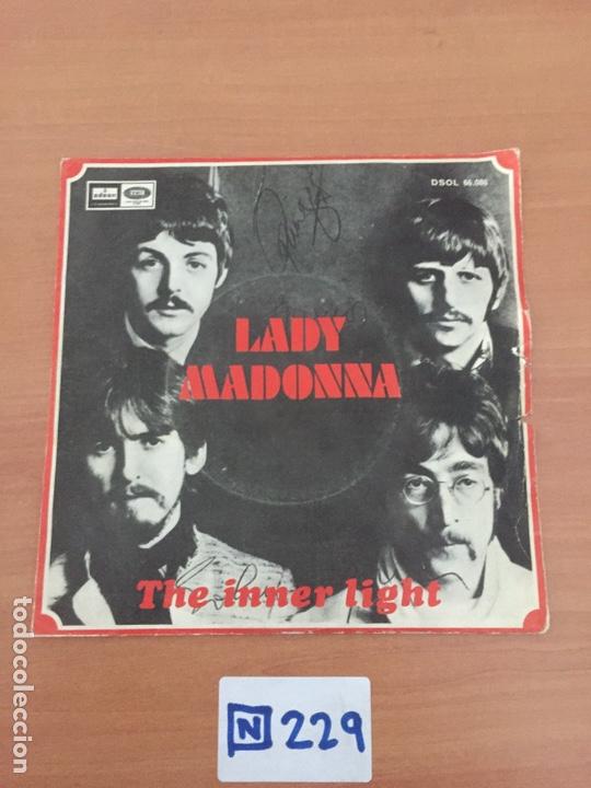 THE BEATLES - LADY MADONNA - 1968 (Música - Discos - Singles Vinilo - Pop - Rock Internacional de los 50 y 60)