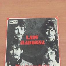 Discos de vinilo: THE BEATLES - LADY MADONNA - 1968. Lote 235236865