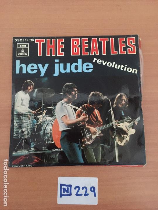 THE BEATLES SINGLE HEY JUDE 1968 (Música - Discos - Singles Vinilo - Pop - Rock Internacional de los 50 y 60)