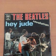 Discos de vinilo: THE BEATLES SINGLE HEY JUDE 1968. Lote 235237115