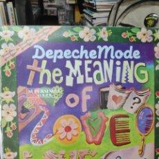 Discos de vinilo: DEPECHE MODE THE MEANING OF LOVE. Lote 235238215