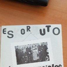 Discos de vinilo: ESKORBUTO - LOS DEMENCIALES CHICOS ACELERADOS. EP DISCOS SUICIDAS 1987 *** MINT ***. Lote 235242560