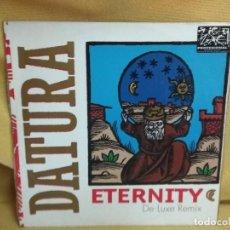Discos de vinilo: DATURA - ETERNITY REMIX. Lote 235251175