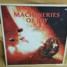 Discos de vinilo: MACHINERIES OF JOY - PLANETS. Lote 235253975