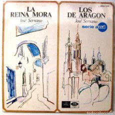 Discos de vinilo: LOS DE ARAGON / LA REINA MORA (JOSÉ SERRANO) MARIA ESPINALT - DIR. RAFAEL FERRER - LP REGAL 1967 BPY. Lote 235256840