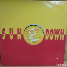 Discos de vinilo: THE OVERLORDS - SUNDOWN. Lote 235260290