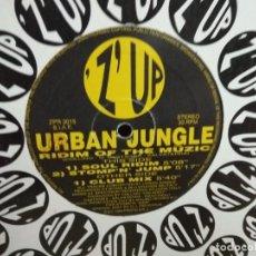 Discos de vinilo: URBAN JUNGLE - RIDIM OF THE MUZIC. Lote 235263140