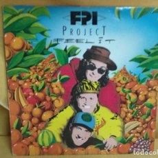 Discos de vinilo: FPI PROJECT - FEEL IT. Lote 235263510