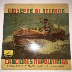 Discos de vinilo: EP GIUSEPPE DI STEFANO 7EPL13448 CANCIONES NAPOLITANAS 1960. Lote 235267510