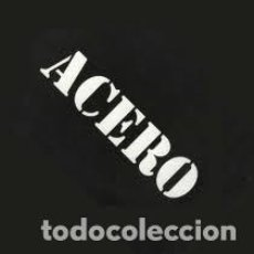 Discos de vinilo: MX-ACERO/ VIBRACIÓN (MAXI 4 TEMAS OGRO RECORDS 1983 PRÁCTICAMENTE NUEVO). Lote 235269460