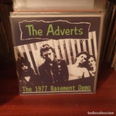 Discos de vinilo: THE ADVERTS / THE 1977 BASEMENT DEMO / BRIGHT RECORDS 2018. Lote 235278090