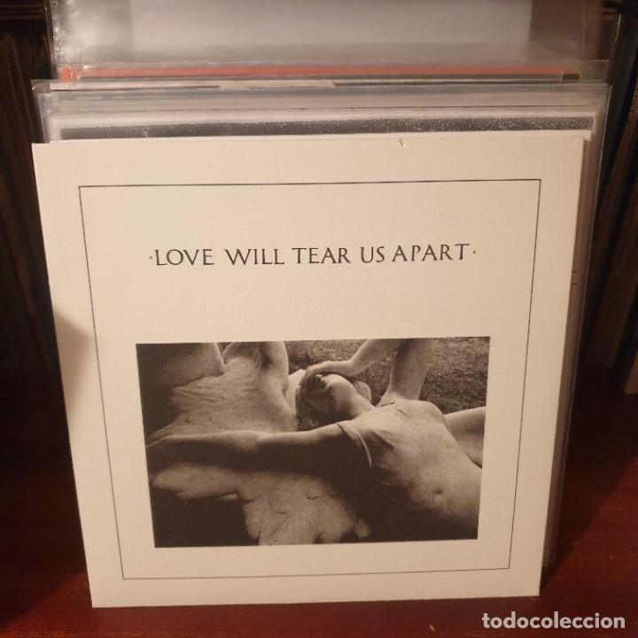 JOY DIVISION / LOVE WILL .... / EDICIÓN PORTUGUESA / PROMOCIONAL / FACTORY 1980 (Música - Discos de Vinilo - EPs - Pop - Rock - New Wave Extranjero de los 80)