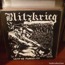 Discos de vinilo: BLITZKRIEG / LEST WE FORGET / MAD BUTCHER 2020. Lote 235281545