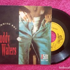 Discos de vinilo: SINGLE MUDDY WATERS - MANNISH BOY - EPC 651637 7 - SPAIN PRESS PROMO (NM/NM) 1-SIDED. Lote 235282020
