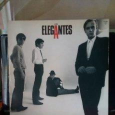 Discos de vinilo: LOS ELEGANTES 1984 DISCOS ZAFIRO. Lote 235285160