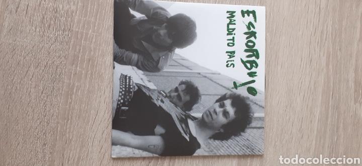 ESKORBUTO MALDITO PAÍS 4 TEMAS (Música - Discos - Singles Vinilo - Punk - Hard Core)