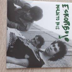 Discos de vinilo: ESKORBUTO MALDITO PAÍS 4 TEMAS. Lote 235296455