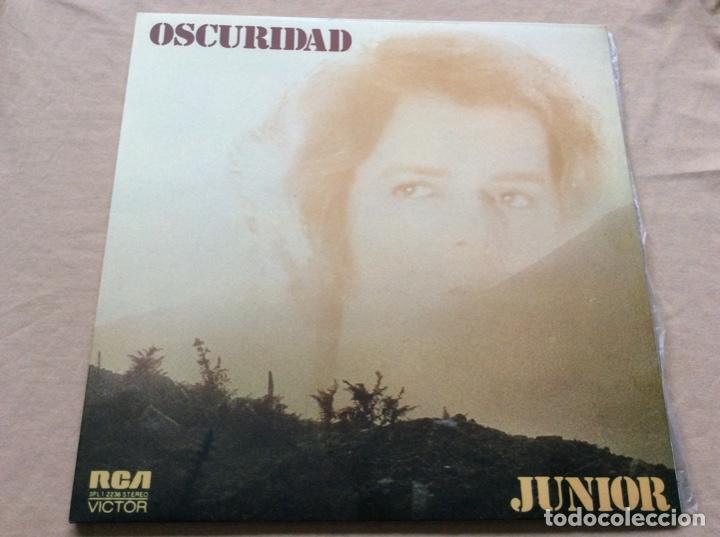 JUNIOR - OSCURIDAD. CARPETA DOBLE. RCA 1974. (Música - Discos - LP Vinilo - Solistas Españoles de los 70 a la actualidad)