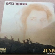 Discos de vinilo: JUNIOR - OSCURIDAD. CARPETA DOBLE. RCA 1974.. Lote 235301065