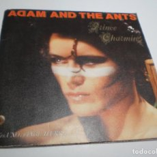 Dischi in vinile: SINGLE ADAM AND THE ANTS. PRINCE CHARMING. CHRISTIAN DOR. CBS 1981 CARPETA DOBLE (PROBADO, BIEN). Lote 235303930