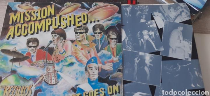 THE REZILLOS....BUT THE BEAT GOES ON (Música - Discos - LP Vinilo - Punk - Hard Core)