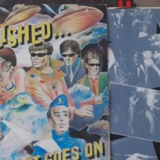 Discos de vinilo: THE REZILLOS....BUT THE BEAT GOES ON. Lote 235304675